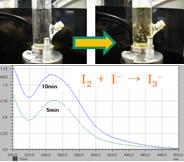 図4 ヨウ化カリウム発色反応