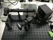 図2 補償光学系実験装置