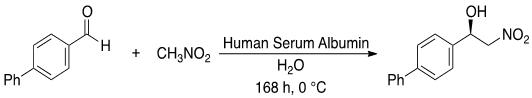 図2 ニトロアルドール反応(ヘンリー反応)単離収率70%、エナンチオマー過剰率79%